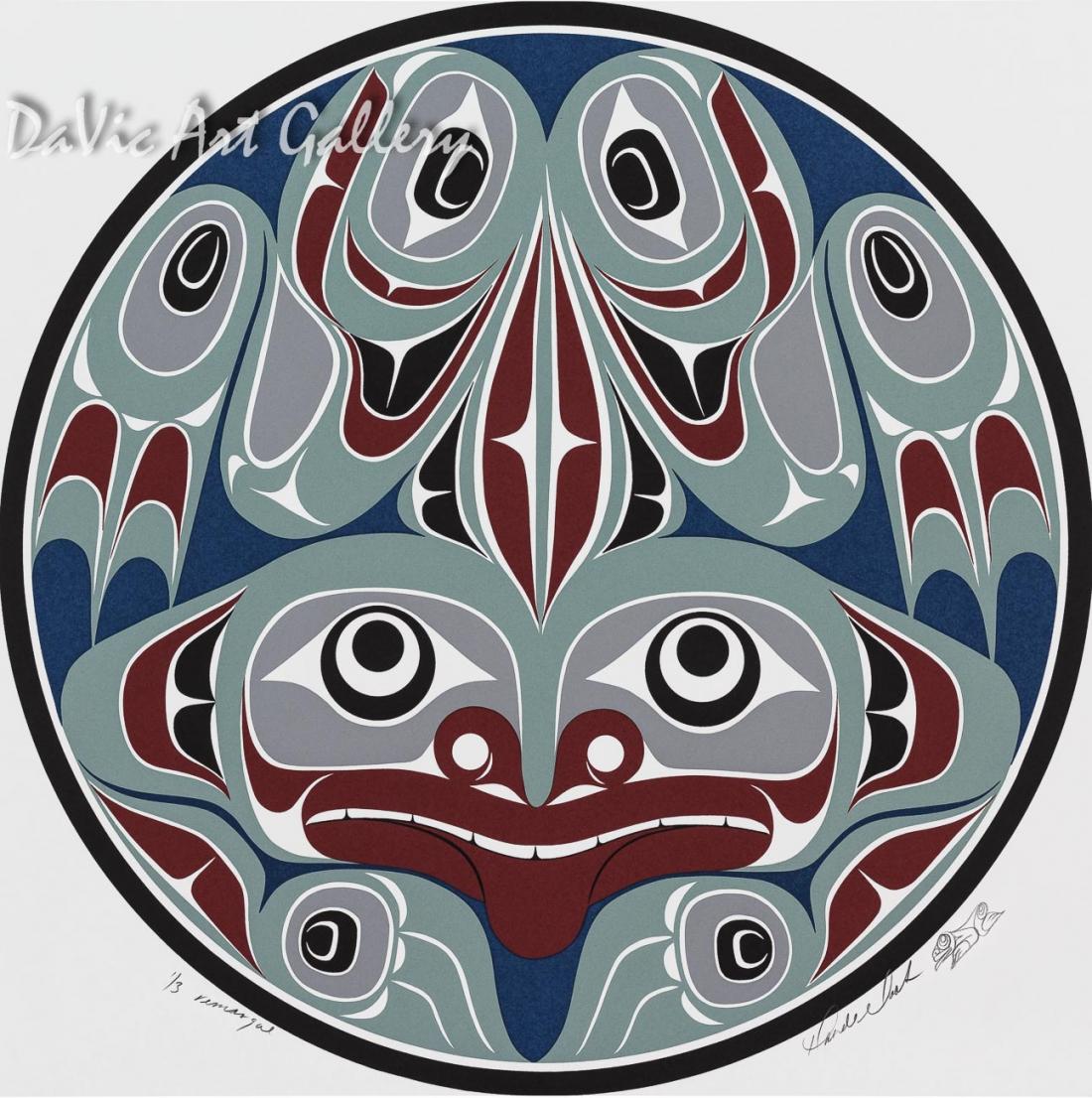 Frog by Rande Cook 2002 - Northwest Coast - Kwakwaka'wakw