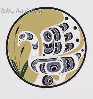 Swan by Rande Cook 2002 - Northwest Coast - Kwakwaka'wakw