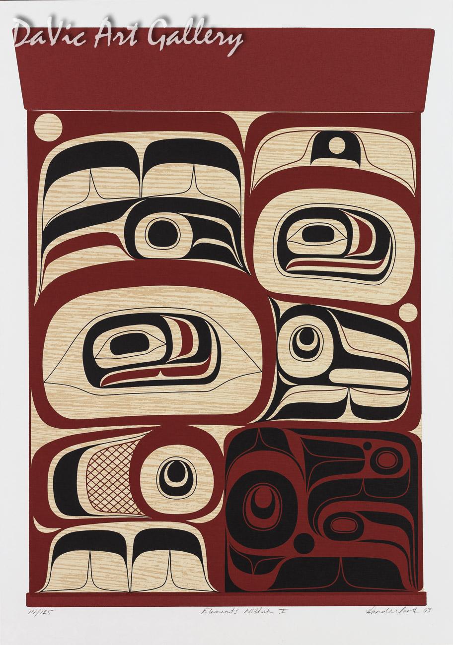 Elements Within I by Rande Cook 2003 - Northwest Coast - Kwakwaka'wakw