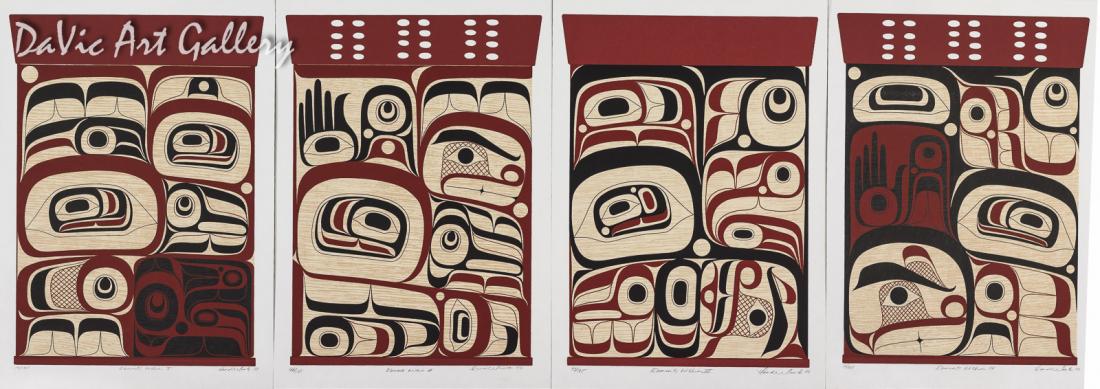 Elements Within I, II, III, IV Box Set by Rande Cook 2003 - Northwest Coast - Kwakwaka'wakw