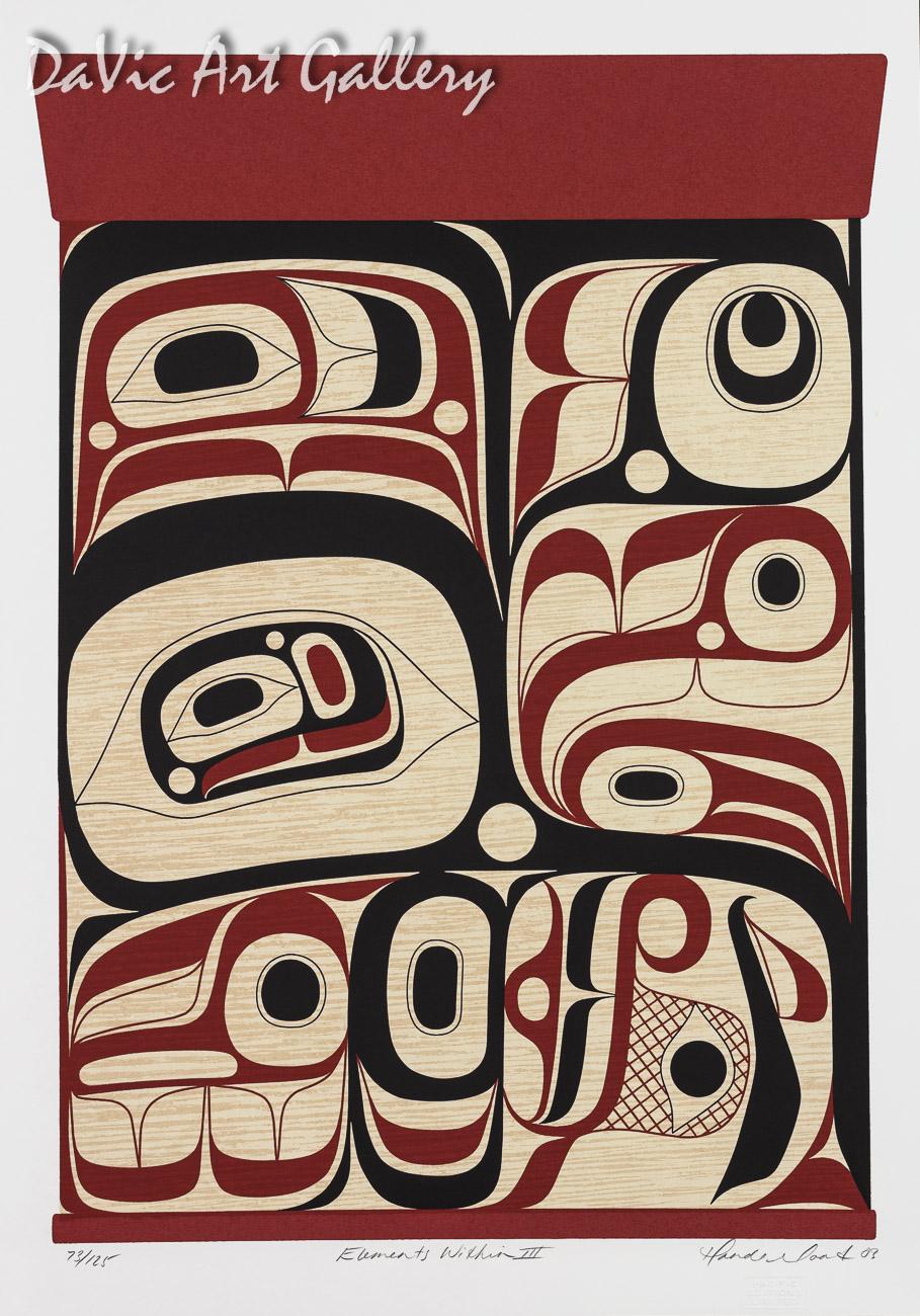 Elements Within III by Rande Cook 2003 - Northwest Coast - Kwakwaka'wakw
