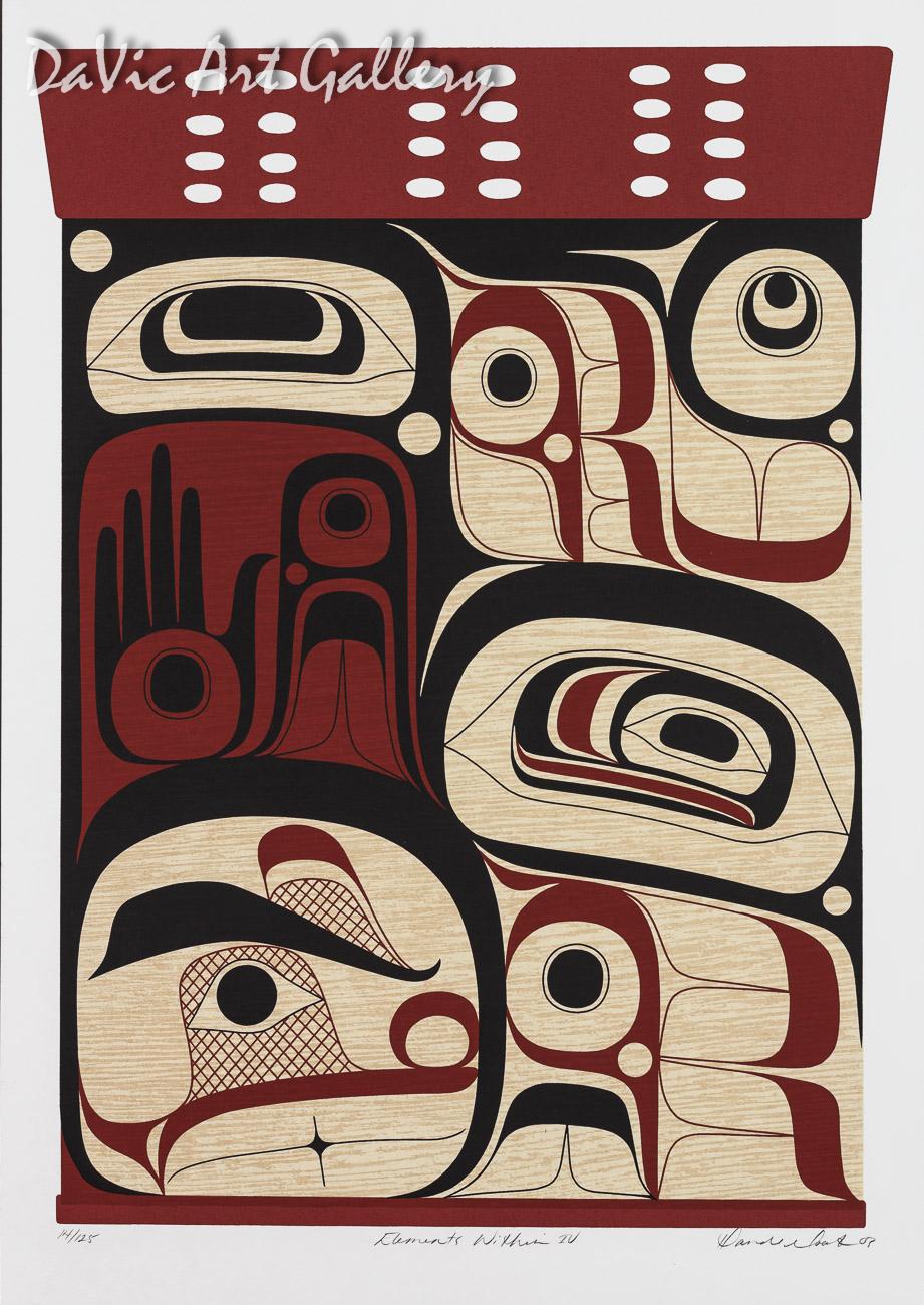 Elements Within IV by Rande Cook 2003 - Northwest Coast - Kwakwaka'wakw