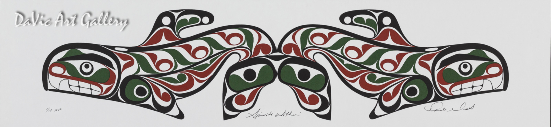 Spiritual Set - Spirits Within by Rande Cook 2005 - Northwest Coast - Kwakwaka'wakw