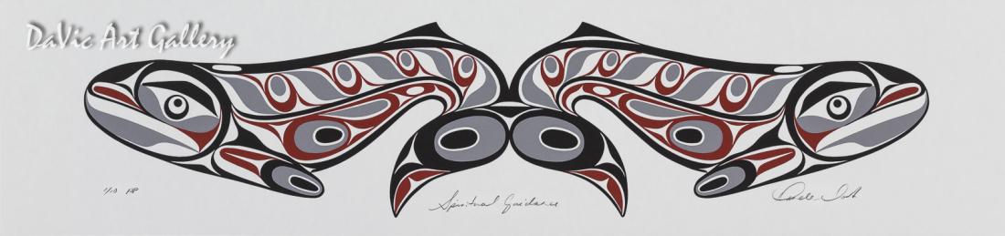 Spiritual Set - Spiritual Guidance by Rande Cook 2005 - Northwest Coast - Kwakwaka'wakw