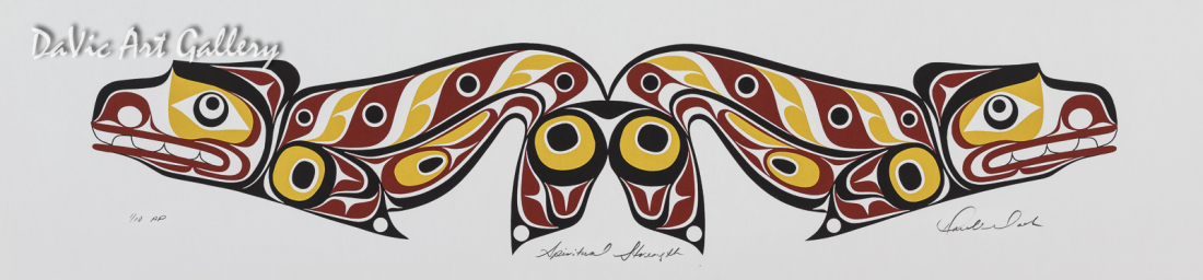 Spiritual Set - Spiritual Strength by Rande Cook 2005 - Northwest Coast - Kwakwaka'wakw