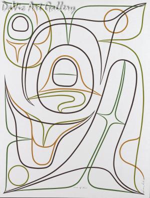 Lines of Time by Rande Cook 2007 - Northwest Coast - Kwakwaka'wakw
