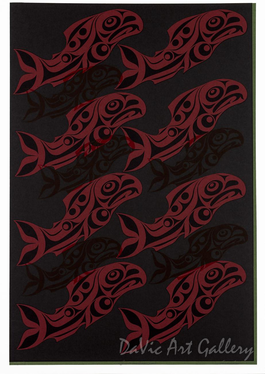 Spirits of Our Time by Rande Cook 2007 - Northwest Coast - Kwakwaka'wakw