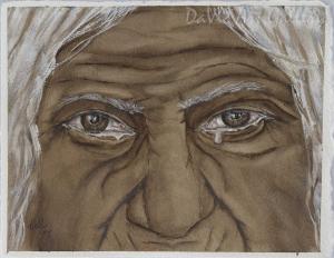 Tears of Wisdom by Kelly Mills 2015 - Northwest Coast - Non-Native