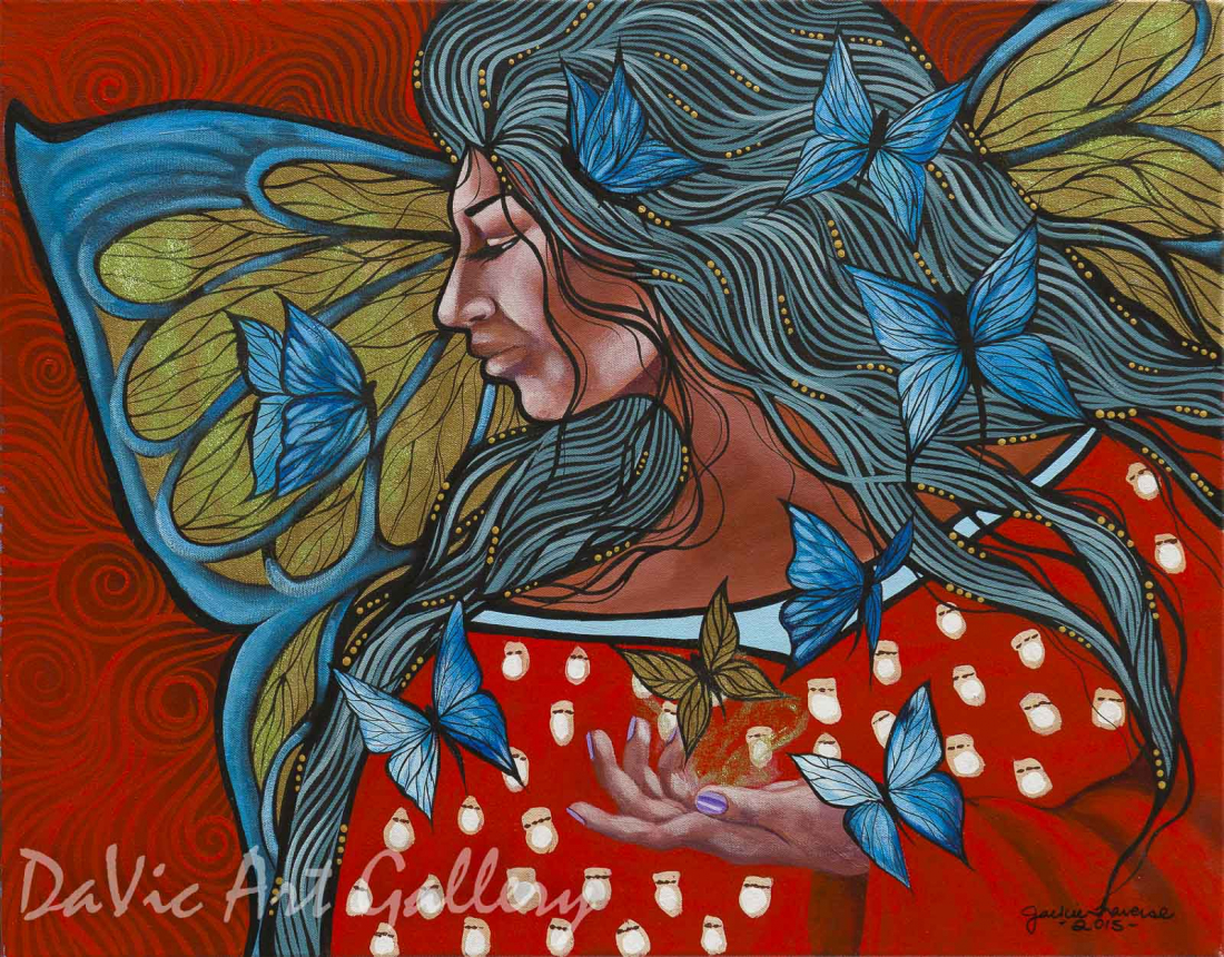 I Choose You by First Nations Anishinaabe artist Jackie Traverse