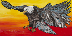 Love by First Nations Anishinaabe artist Jackie Traverse