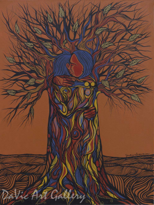 My Love for You Grows by First Nations Anishinaabe artist Jackie Traverse