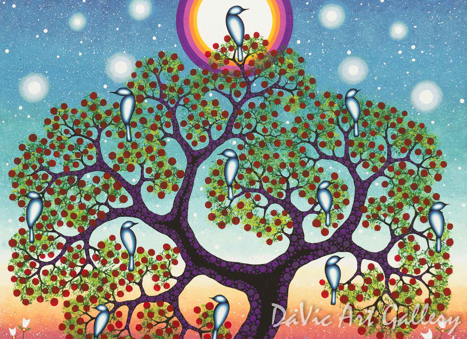 Quot Tree Of Knowledge Quot By James Jacko Anishinaabe Native