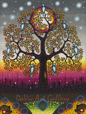 'Tree of Life' by First Nations Odawa artist James Jacko