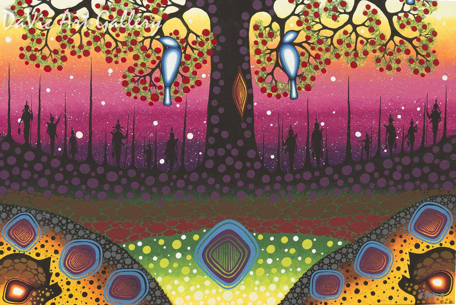 Quot Tree Of Life Quot By James Jacko Anishinaabe Native