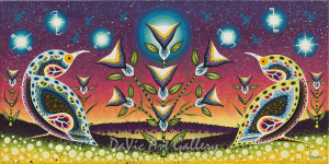 'A Symbol of Teachings From Our Creator' by First Nations Anishinaabe artist James Jacko
