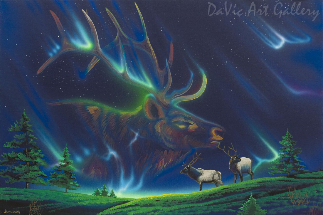 'First Night' by First Nations Cree artist Jasyn Lucas