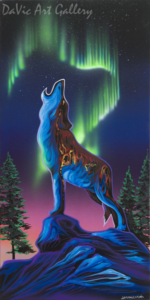'Independence' by First Nations Cree artist Jasyn Lucas