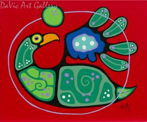'Inner Beauty' by First Nations Ojibwe artist Jim Oskineegish