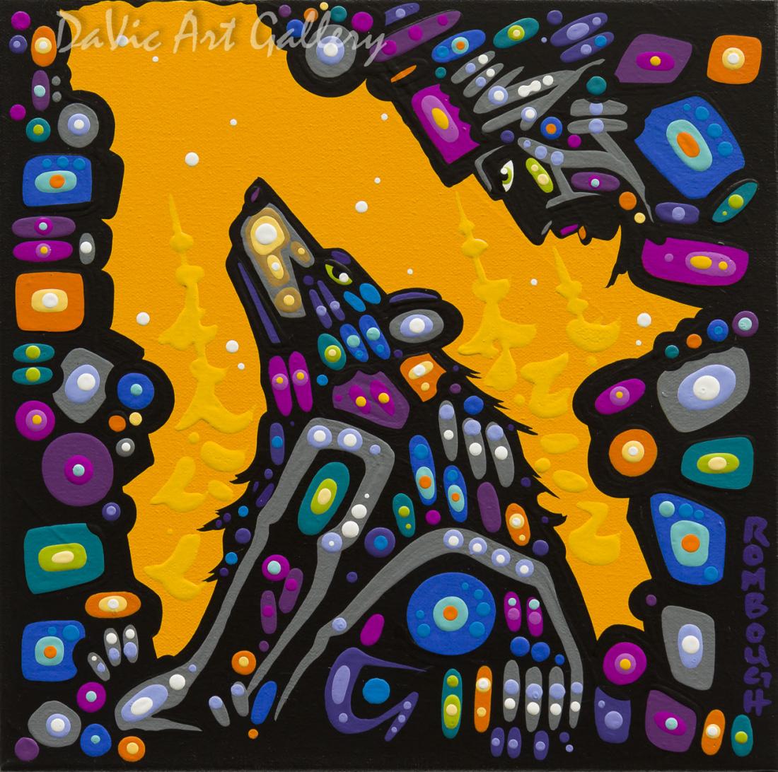 'Harmony' by First Nations Dene artist John Rombough