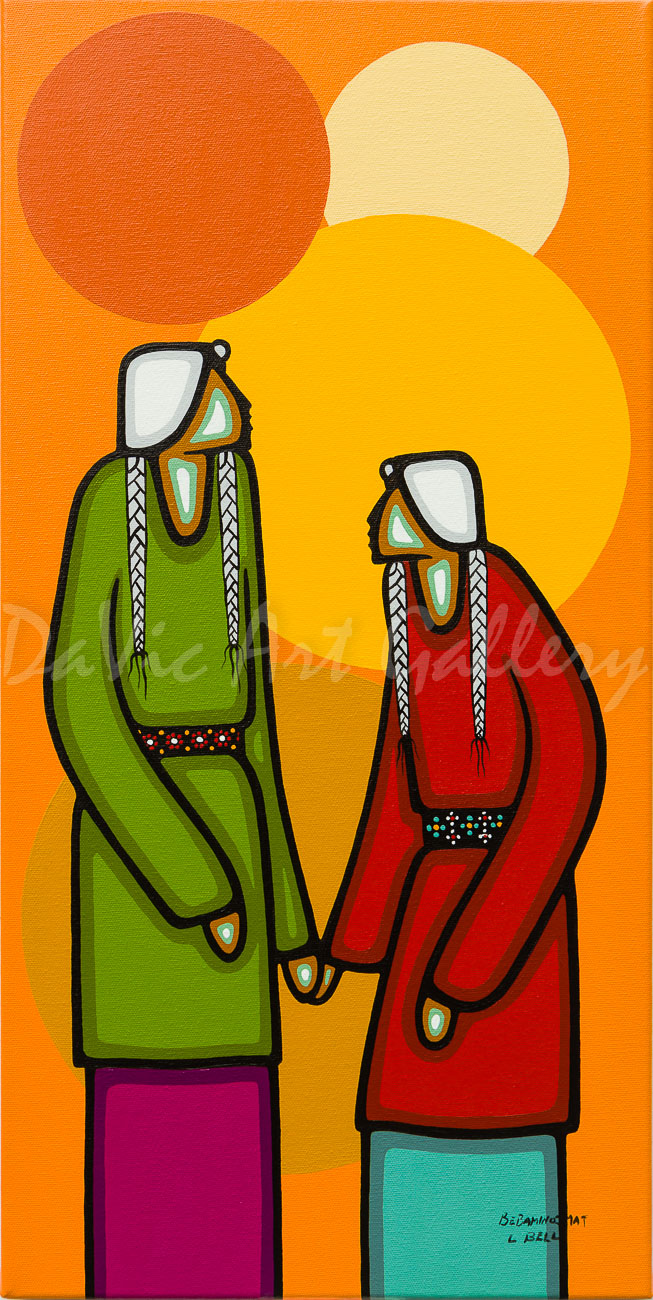 Dawn's Love by First Nations Ojibwe artist Leland Bell