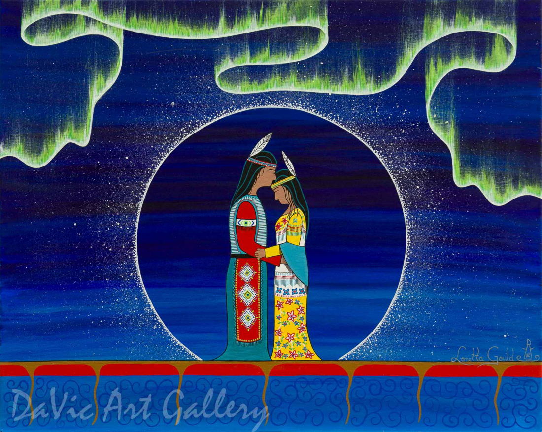 'Forever United' by First Nations Mi'kmaq artist Loretta Gould