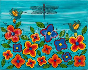 'Garden of Hope' by First Nations Mi'kmaq artist Loretta Gould