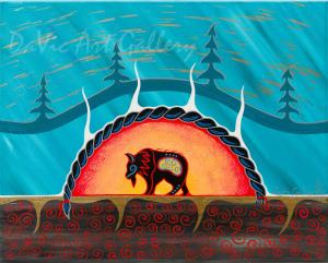 'Respect' by First Nations Mi'kmaq artist Loretta Gould