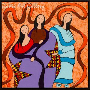 Blanket Ceremony by Nikki Manitowabi