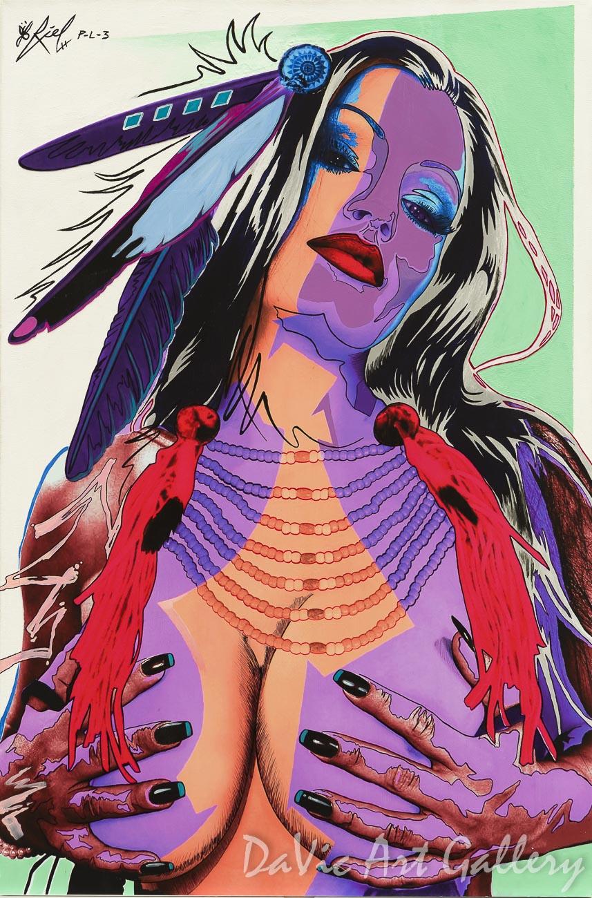 Painted Lady 3 by Riel Benn 2015
