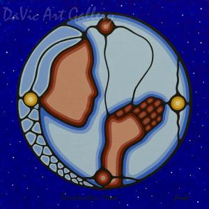 Grand Mother Moon by Sharifah Marsden 2015
