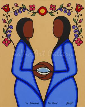In Sisterhood We Share by Sharifah Marsden 2015