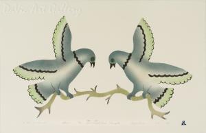 'At Rest in Summer' by Ida Karpik - Inuit - Pangnirtung 1995
