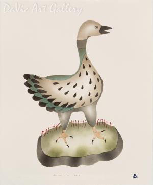 'Little Goose' by Ida Karpik - Inuit - Pangnirtung 1995
