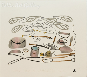 'Inuit Things' by Annie Kilabuk - Inuit Art - Pangnirtung 1996