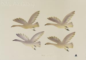 'Migrating Birds' by Ida Karpik - Inuit - Pangnirtung 2002