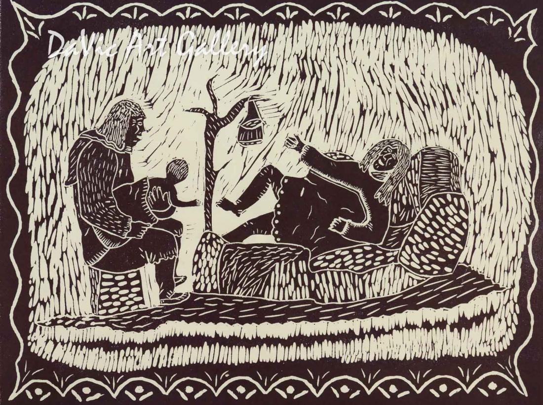 'Come, My Baby' by Lipa Pitsiulak - Inuit - Pangnirtung 2003