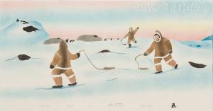 'I Remember' by Noah Maniapik - Inuit - Pangnirtung 2004