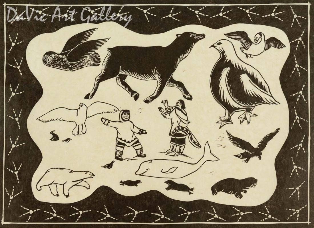 'Arctic Icons' by Annie Kilabuk - Inuit - Pangnirtung 2005