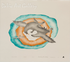 'Yours and Mine' by Joelie Maniapik - Inuit - Pangnirtung 2007