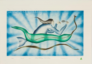 'Sedna' by Geetaloo Akulukjuk - Inuit - Pangnirtung 2008