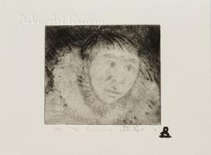 'Boy' by Andrew Qappik, RCA - Inuit Art - Pangnirtung 2010