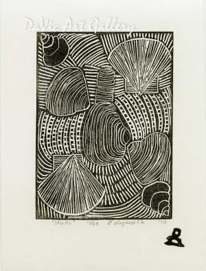 'Shells' by Eena Angmarlik - Inuit - Pangnirtung 2010