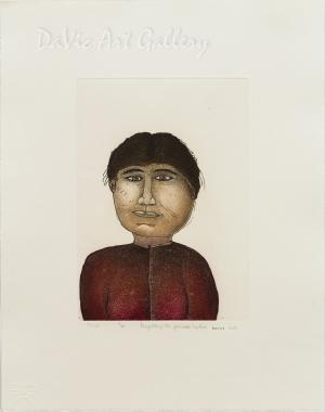 'Ooleepa' by Joanasie Papatsie - Inuit - Pangnirtung 2010
