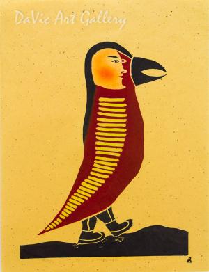 'Bird Woman' by Piona Keyuakjuk - Inuit - Pangnirtung 2010