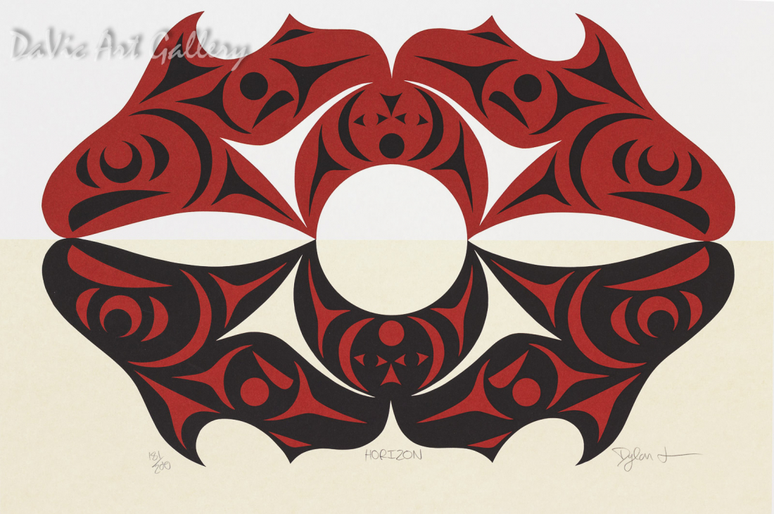 Horizon by Dylan Thomas 2009 - Northwest Coast - Coast Salish