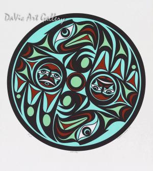 Harmony by Joseph Wilson 2006 - Northwest Coast - Coast Salish