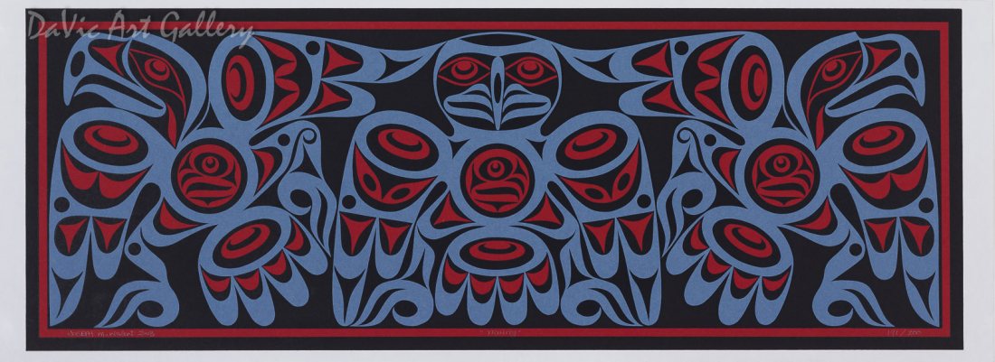 Trinity by Joseph Wilson 2008 - Northwest Coast - Coast Salish