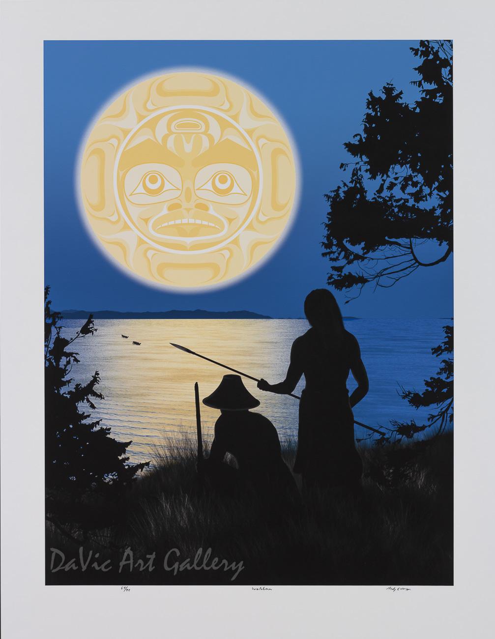 Watchmen by Andy Everson 2008 - Northwest Coast - Kwakwaka'wakw