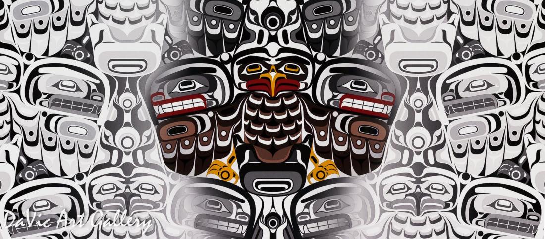 Transition One by Andy Everson 2011 - Northwest Coast - Kwakwaka'wakw