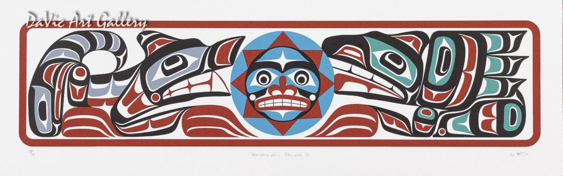 Namukwiyalis Memorial by Calvin Hunt 2003 - Northwest Coast - Kwakwaka'wakw